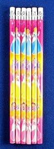 Princess & Castle Pencils (Pk 6)