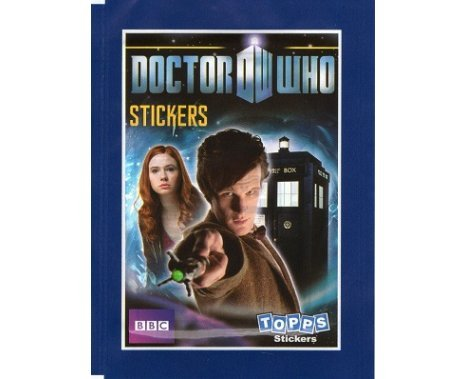 Dr Doctor Who Stickers Matt Smith / Amy Pond 1 x Packet