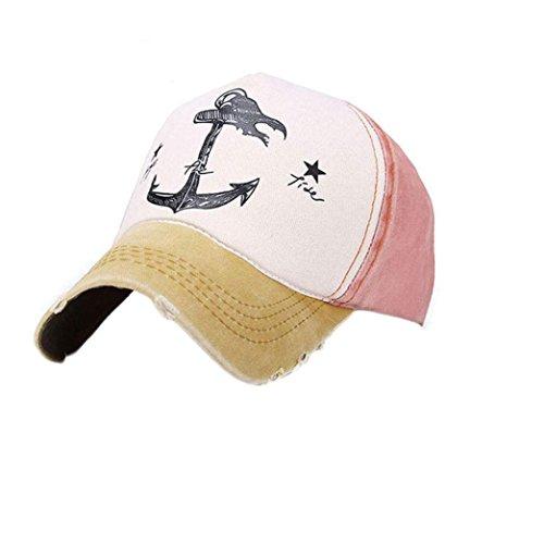 LHWY -  Cappellino da baseball  - Uomo Yellow Taglia unica