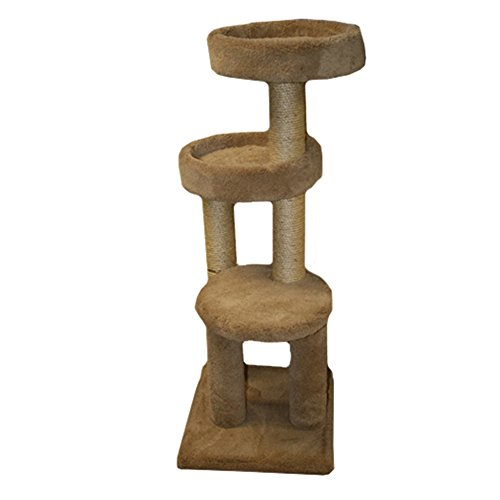 Classy Kitty 25.5″ Cat Pedestal Bed with Tunnel