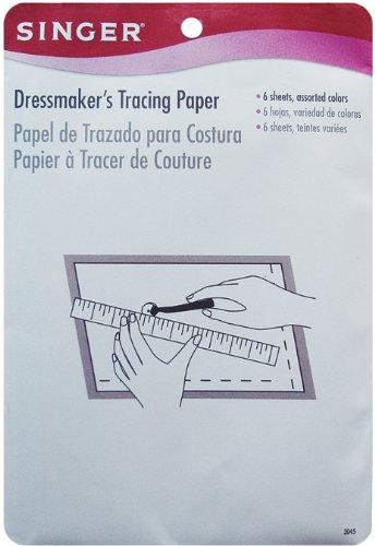 Singer Dressmaker's Tracing Paper-6-1/2
