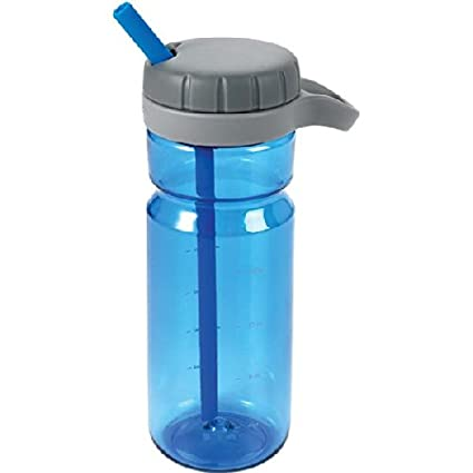 OXO Good Grips Twist Top Water Bottle, Blue