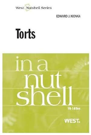 Torts Nutshell th Edward Kionka ebook dp BLENU