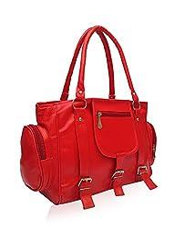Vintage Women's Handbag (Red,Bag 65)