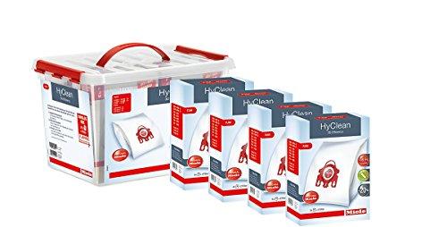 Miele Sorglos-Box FJM 3D, 5 Jahre Garantie, 16 Staubbeutel, 4 Motorschutzfilter, 4 Abluftfilter