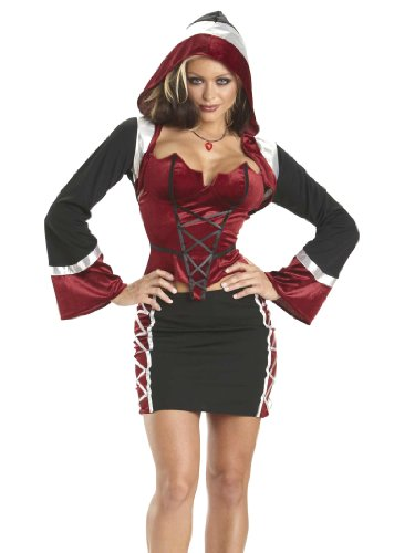 Enticing Sexy Vampire Costume Womens 4 Piece Sexy Costumes Set Halloween