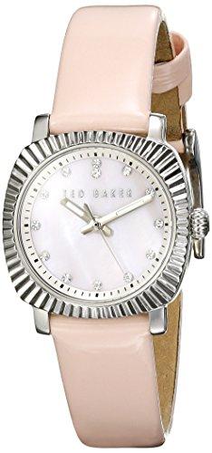 Ted Baker Women'S Te2121 Mini Jewels Analog Display Japanese Quartz Pink Watch