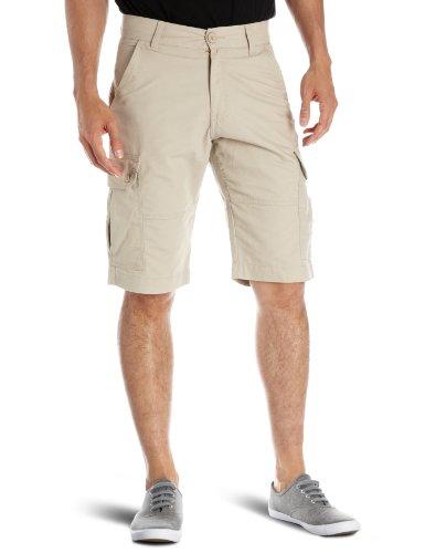 Wrangler Basic Cargo Men's Shorts Beige W28 IN