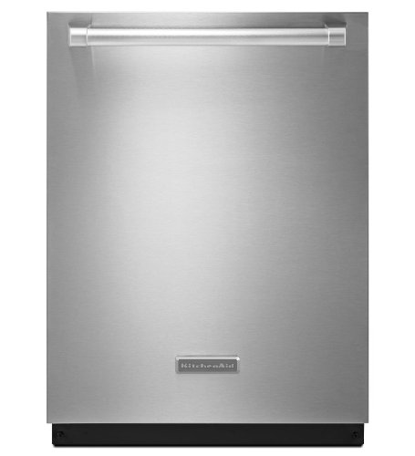 KITCHENAID KDTE404DSP 24'' 6-Cycle/6-Option Dishwasher, Architect