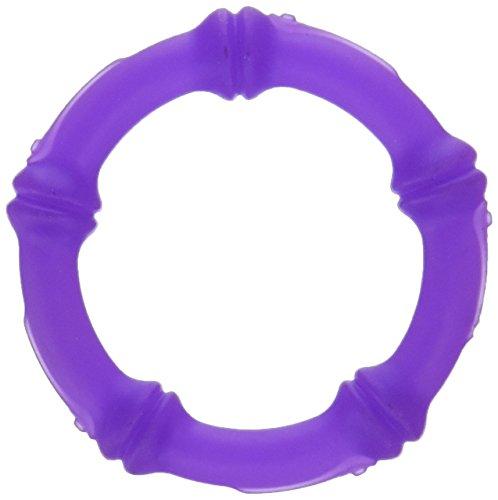 KidKusion Gummi Teething Bracelet Just My Size, Purple