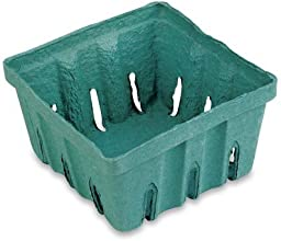 Berry Baskets  10ct 4quotx4quotx175quot Green