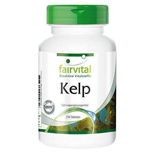 Kelp (natürliche Quelle für Jod mit 150 mcg Jod), 250...
