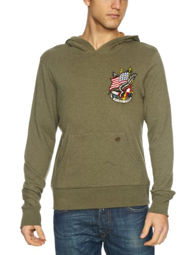 Ed Hardy Born Free Men's Jumper Olive Small