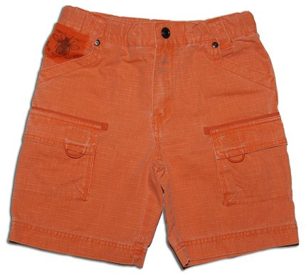 Boy's Carrot Wrinkled Wash Cotton Shorts - Buy Boy's Carrot Wrinkled Wash Cotton Shorts - Purchase Boy's Carrot Wrinkled Wash Cotton Shorts (Shilav, Shilav Apparel, Shilav Toddler Boys Apparel, Apparel, Departments, Kids & Baby, Infants & Toddlers, Boys, Shorts)