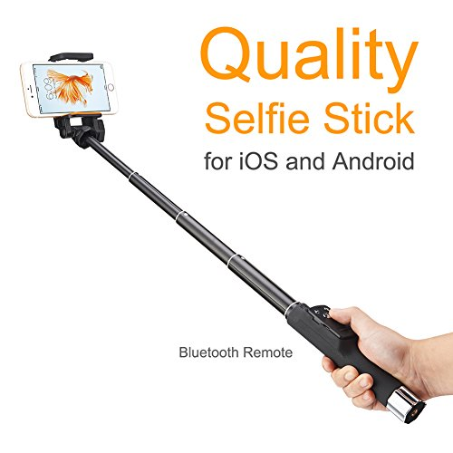 tabletop selfie stick with bluetooth remote tripod stand for iphone android ebay. Black Bedroom Furniture Sets. Home Design Ideas