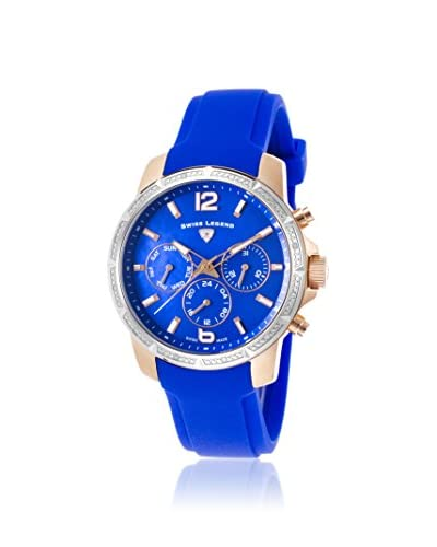 Swiss Legend Women's SL-16527SM-RG-03-BLS Legasea Blue Stainless Steel Watch