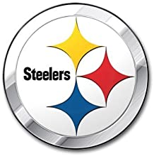 Pittsburgh Steelers 3D COLO RChrome Auto Emblem Home Decal NFL Football by Team Spirit