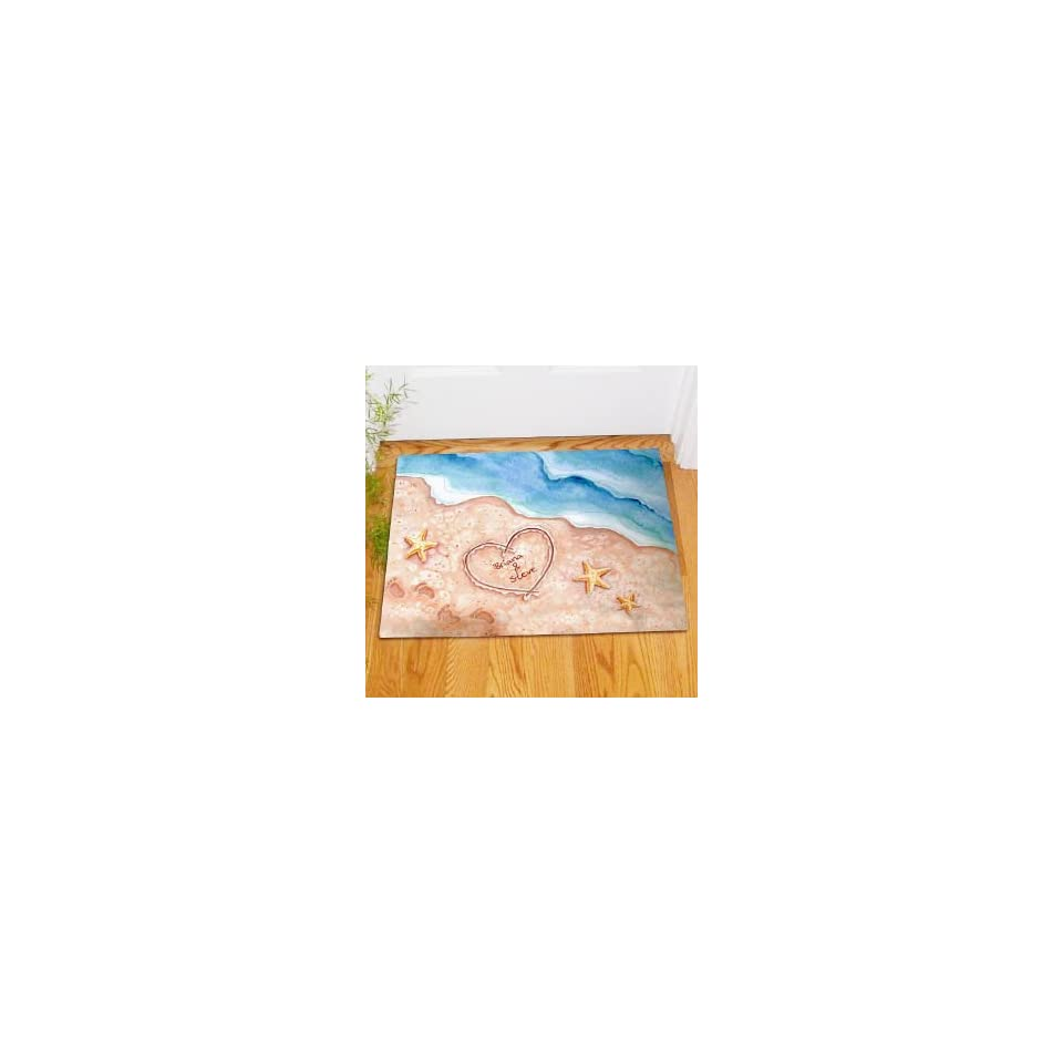 Shores of Love Personalized Doormat