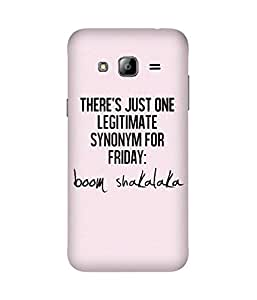 Boom Shakalaka Samsung Galaxy J2 Case