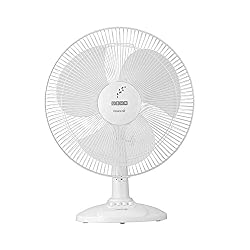 Usha Maxx Air Table Fan, Blue 400mm