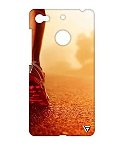 Vogueshell Runner Printed Symmetry PRO Series Hard Back Case for LeEco Le 1s Eco