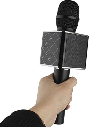 Being Trendy Portable Wireless Karaoke Microphone Handheld Condenser Microphone Inbuilt Speaker Microphone