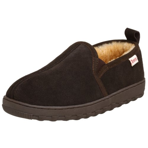 Tamarac by Slippers International Men's Cody Sheepskin Slipper,Rootbeer,9 W US