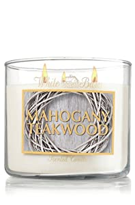 Mahogany Teakwood Scented Candle 14.5 Oz