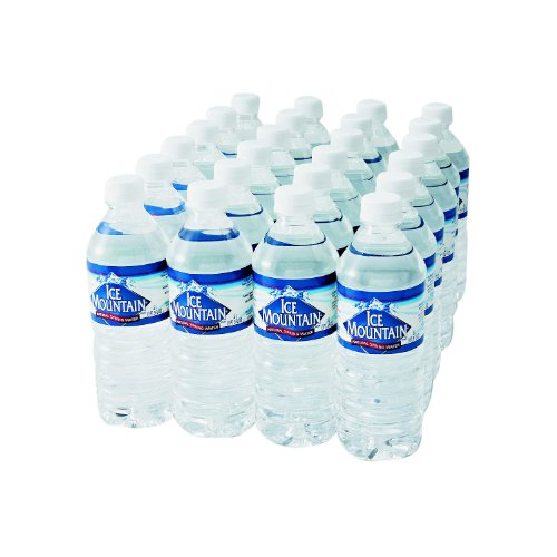Bottled Spring Water, 1/2-Liter Size, 24 Bottles/Carton (082657504063)