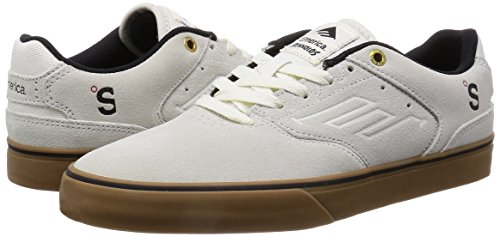 thumbnails of Emerica Men's Provost Slim Vulc X Mouse Skate Shoe, Black/Print, 7 M US