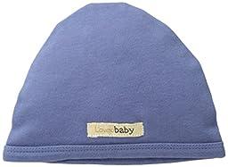 L\'ovedbaby Unisex-Baby Organic Cute Cap, Slate, Newborn (up to 7 lbs.)