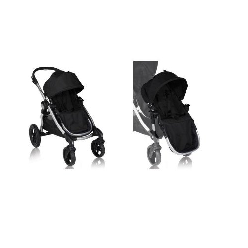 Baby Jogger City Select Stroller with Second Seat - Onyx