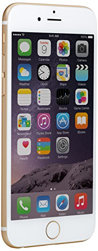 Apple iPhone 6 - 128 GB Unlocked Phone - Retail Packaging - Gold (Iphone 6 Plus Locked At&t compare prices)