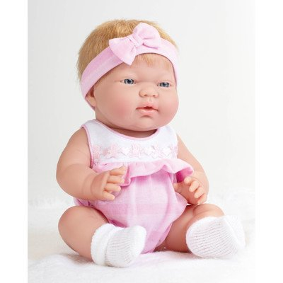 Jc Toys Blonde Ani Baby Doll, Pink