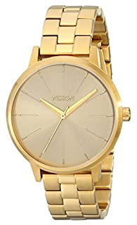 Nixon Unisex The Kensington All Gold Watch One Size