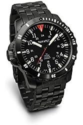 TAWATEC Auto Black Titan Diver Tactical ICS - Titanium Bracelet