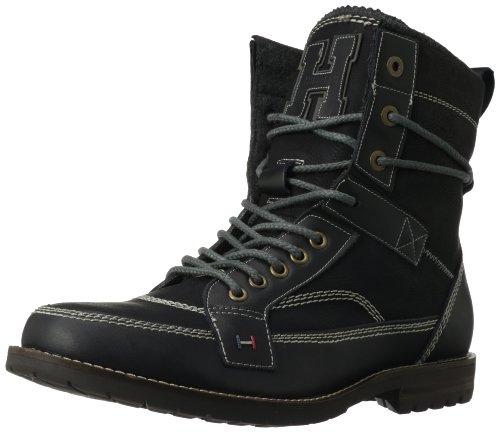 25610ebb6a997 Tommy Hilfiger Men s Brutus BootBlack9.5 M US Price! - congkhiem0748