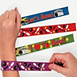 Pack of 4 - Ten Pin Bowling Slap Brac...