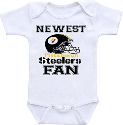 Manta Unisex est Steelers Fan Funny Baby Shower Onesie Bodysuit