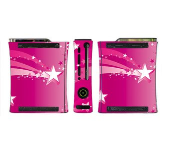 Pink Starburst Skin for Xbox 360 Console