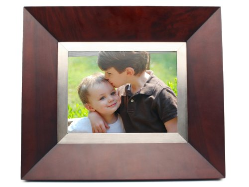 Cagic C8-Mahogany 8.4-Inch Tft Lcd Digital Picture Frame With Truevu (Mahogany Wood)