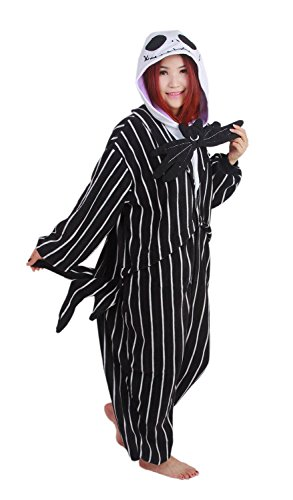 Men Kigurumi Pajamas the Nightmare Before Christmas Jack ...