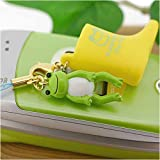 かえるのピクルス 雨の日も元気なピクルスの長靴携帯ストラップ(グリーン)CG-99037