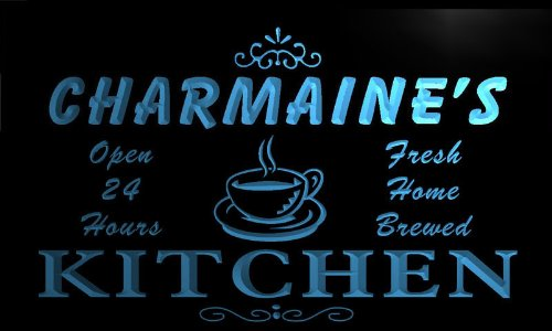 Pc822-B Charmaine'S Family Name Kitchen Neon Sign