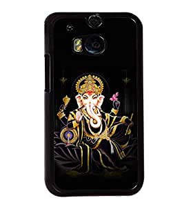 printtech Lord God Ganesha Back Case Cover for Huawei Honor 7