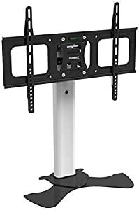 Buying Guide of  Duronic TVS1D1 Glass Desk 30″-50″ TV Stand