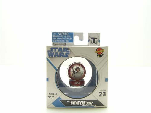 Star Wars Princess Leia Marble & Base #23 - 1