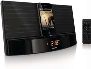 Philips AJ7041D Radio réveil avec Station d'accueil pour iPod/iPhone Noir