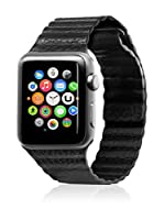 Unotec Correa Segment Apple Watch 38 mm Negro
