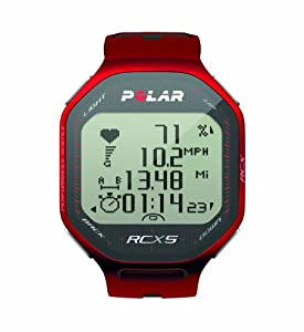 Buy Polar RCX5 G5 Heart Rate Monitor (Red) by Polar